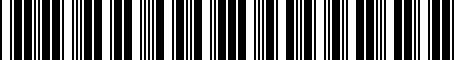 Barcode for PT39235100
