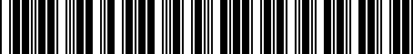 Barcode for PT93848140